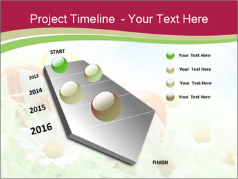 Easter Eggs and Camomiles PowerPoint Templates - Slide 26