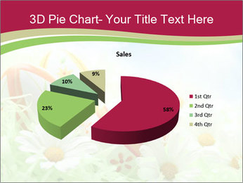 Easter Eggs and Camomiles PowerPoint Templates - Slide 35