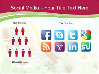 Easter Eggs and Camomiles PowerPoint Template - Slide 5