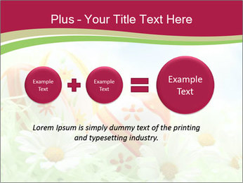 Easter Eggs and Camomiles PowerPoint Template - Slide 75