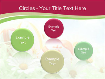 Easter Eggs and Camomiles PowerPoint Templates - Slide 77