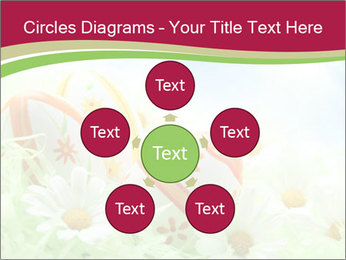 Easter Eggs and Camomiles PowerPoint Templates - Slide 78