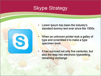 Easter Eggs and Camomiles PowerPoint Templates - Slide 8