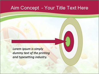 Easter Eggs and Camomiles PowerPoint Template - Slide 83