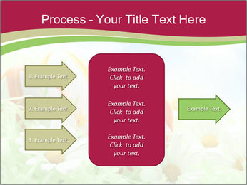 Easter Eggs and Camomiles PowerPoint Templates - Slide 85
