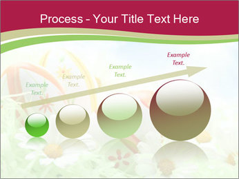 Easter Eggs and Camomiles PowerPoint Template - Slide 87
