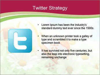 Easter Eggs and Camomiles PowerPoint Templates - Slide 9