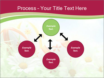 Easter Eggs and Camomiles PowerPoint Templates - Slide 91