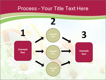 Easter Eggs and Camomiles PowerPoint Templates - Slide 92