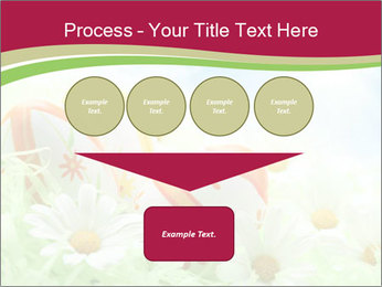 Easter Eggs and Camomiles PowerPoint Template - Slide 93