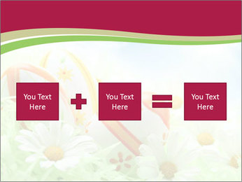 Easter Eggs and Camomiles PowerPoint Templates - Slide 95