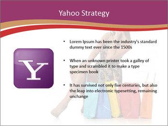 Happy Shopaholic PowerPoint Templates - Slide 11