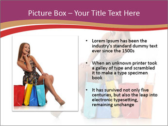 Happy Shopaholic PowerPoint Templates - Slide 13
