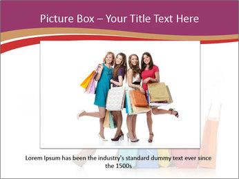 Happy Shopaholic PowerPoint Templates - Slide 15