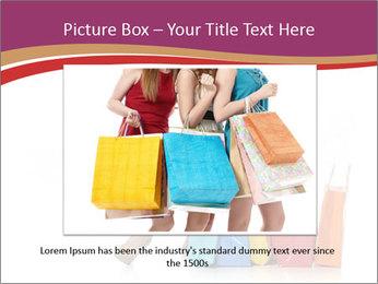 Happy Shopaholic PowerPoint Templates - Slide 16