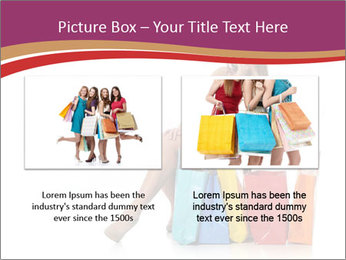 Happy Shopaholic PowerPoint Templates - Slide 18