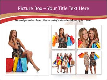 Happy Shopaholic PowerPoint Templates - Slide 19