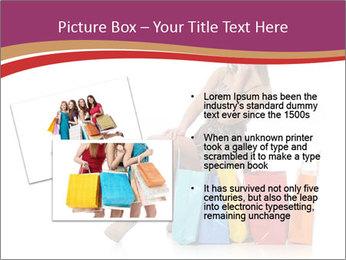 Happy Shopaholic PowerPoint Templates - Slide 20