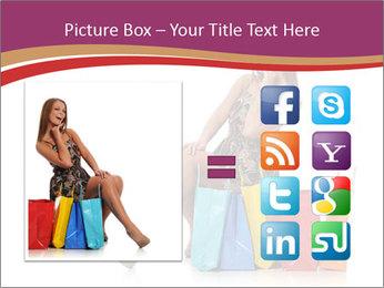 Happy Shopaholic PowerPoint Templates - Slide 21
