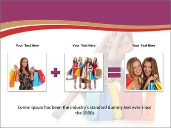Happy Shopaholic PowerPoint Templates - Slide 22