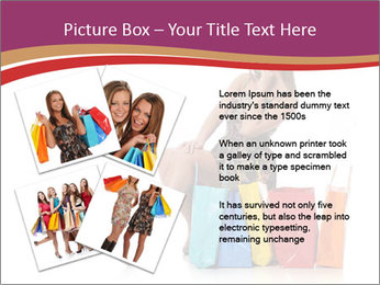 Happy Shopaholic PowerPoint Templates - Slide 23
