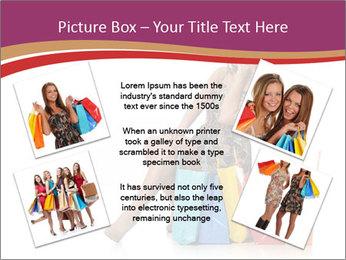 Happy Shopaholic PowerPoint Templates - Slide 24