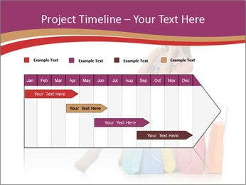 Happy Shopaholic PowerPoint Templates - Slide 25