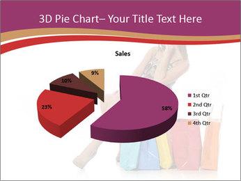 Happy Shopaholic PowerPoint Templates - Slide 35