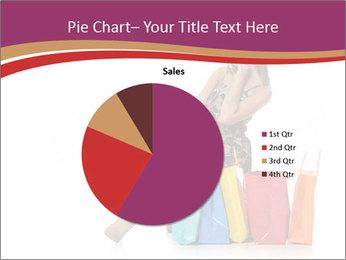 Happy Shopaholic PowerPoint Templates - Slide 36