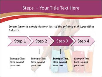 Happy Shopaholic PowerPoint Templates - Slide 4