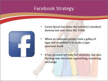 Happy Shopaholic PowerPoint Templates - Slide 6