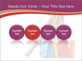 Happy Shopaholic PowerPoint Templates - Slide 76