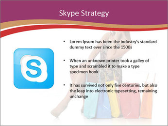 Happy Shopaholic PowerPoint Templates - Slide 8
