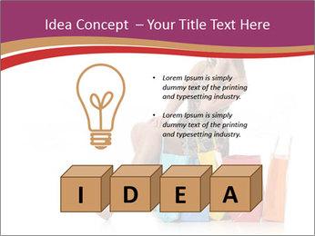 Happy Shopaholic PowerPoint Templates - Slide 80