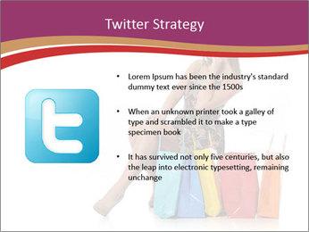 Happy Shopaholic PowerPoint Templates - Slide 9