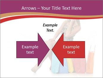 Happy Shopaholic PowerPoint Templates - Slide 90