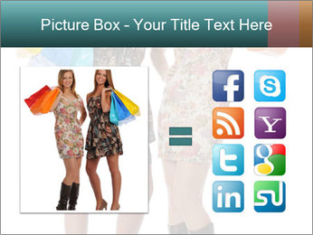 Two Happy Shopaholics PowerPoint Template - Slide 21
