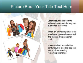 Two Happy Shopaholics PowerPoint Template - Slide 23