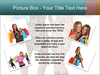 Two Happy Shopaholics PowerPoint Template - Slide 24
