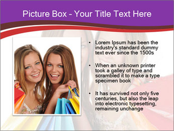 Two Friends Shopaholics PowerPoint Templates - Slide 13
