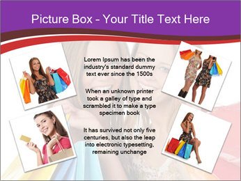 Two Friends Shopaholics PowerPoint Templates - Slide 24