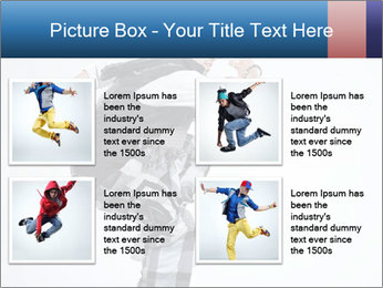 Italian Breakdancer PowerPoint Template - Slide 14