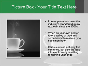 White Coffee Cup PowerPoint Templates - Slide 13