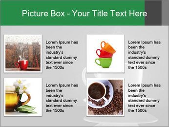 White Coffee Cup PowerPoint Templates - Slide 14