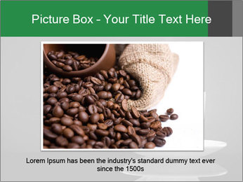 White Coffee Cup PowerPoint Templates - Slide 15