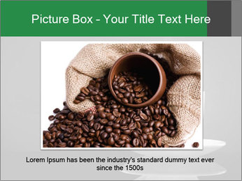 White Coffee Cup PowerPoint Templates - Slide 16