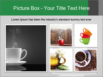 White Coffee Cup PowerPoint Templates - Slide 19