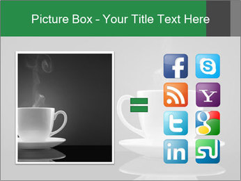 White Coffee Cup PowerPoint Templates - Slide 21
