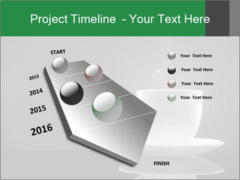 White Coffee Cup PowerPoint Templates - Slide 26