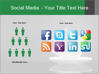 White Coffee Cup PowerPoint Templates - Slide 5